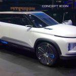 Geely Icon: Prototipo utiliza la plataforma del Volvo XC40. Estreno en Beijing