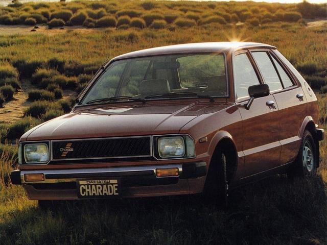 Daihatsu Charade G10/G20 Serie 2 1981-1984