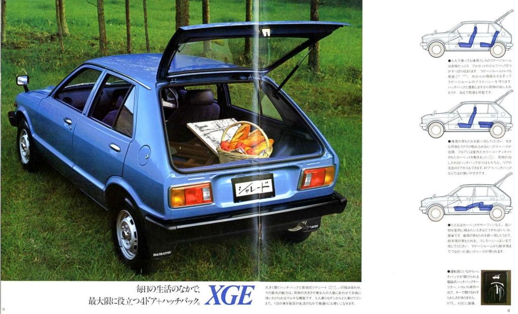 Daihatsu Charade G10/G20 Serie 1 1977-1980
