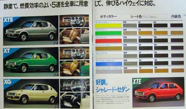 Daihatsu Charade G10/G20 Runabout Serie 1 1977-1980