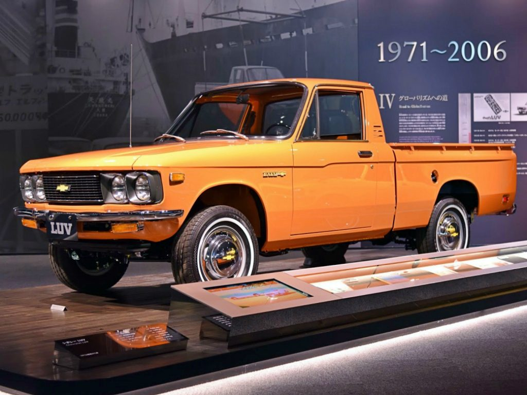 chevrolet luv: la primera generación 1972-1980 - veoautos.cl