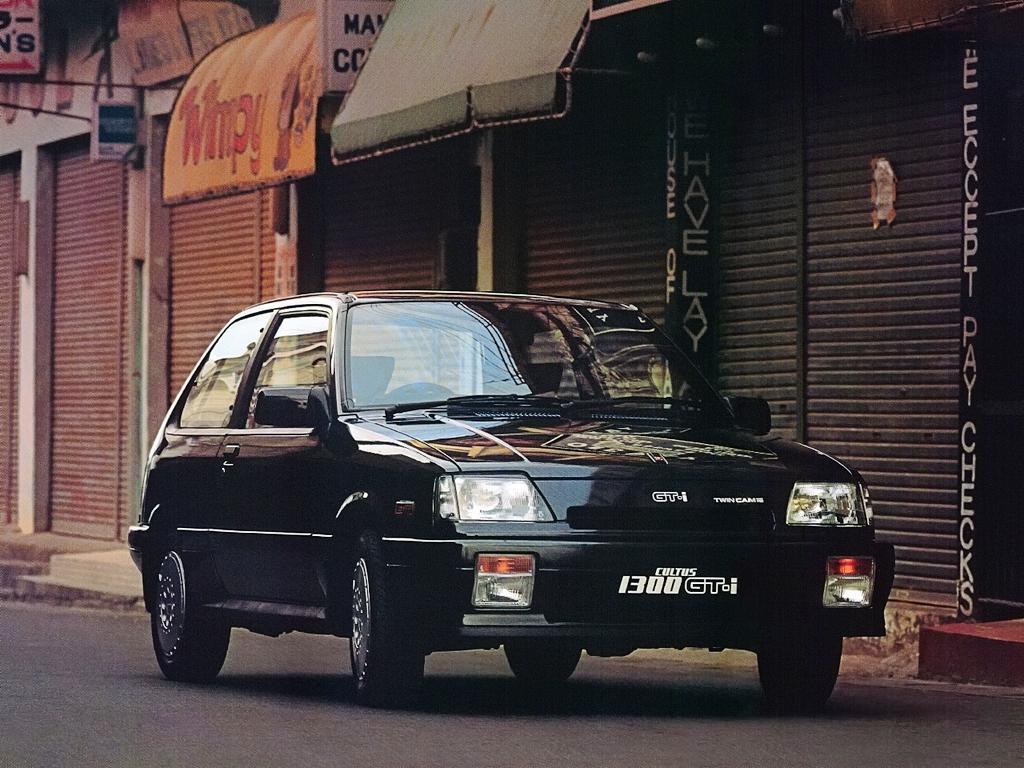 Suzuki Forsa Cultus 1983-1988 GTi
