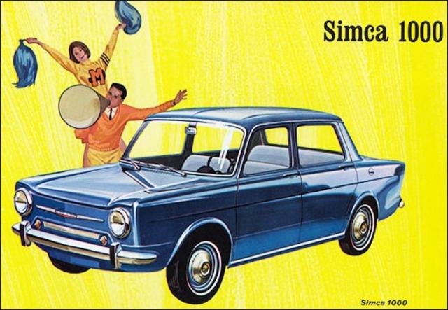 Simca 1000 1961-1968