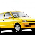 Fiat Cinquecento 1.1L Sporting: Se comercializó en Chile durante los años 1996 y 1997