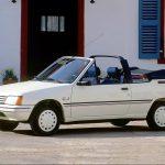 Peugeot 205 CJ Cabriolet: 47 Unidades arribaron a Chile entre 1989 y 1993