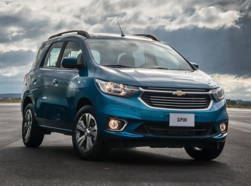 Nueva Chevrolet Spin 2019 Arriba A Chile Con Una Mejorada Esttica
