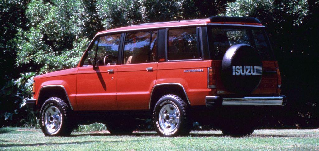 Chevrolet Trooper Primera Generacin Serie Ll 1987 1992 En Chile