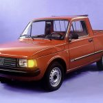 Fiat Pickup City: Con el ADN del 147, ingresó a Chile el año 1986