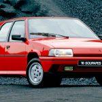 Citroën BX 19 GTi 16v y BX 16 Soupapes: Las versiones más radicales. 108 Unidades en Chile