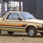 Subaru BRAT MV: La Pickup 4WD derivada del Leone. 1.070 unidades vendidas en Chile