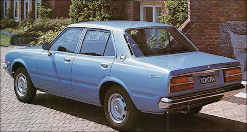 Toyota Corona Quinta Generaci U00f3n Fase Ll  1977 A 1980 En