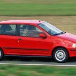 Fiat Punto 1era Generación: 1994 a 1999 en Chile